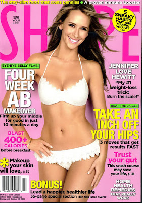 Jennifer Love Hewitt Covers Shape Magazine (October 2009) picture