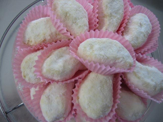 Kue Putri Salju - aneka resep kue lebaran
