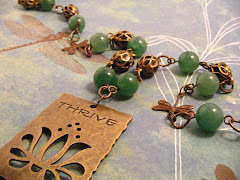 Thrive Jade and Brass Necklace