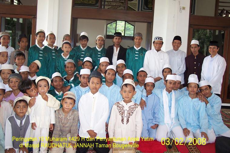 Kegiatan masjid Raudahtul Jannah