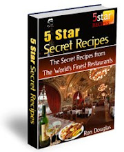 Recipes from the top 5-star rated restaurants
