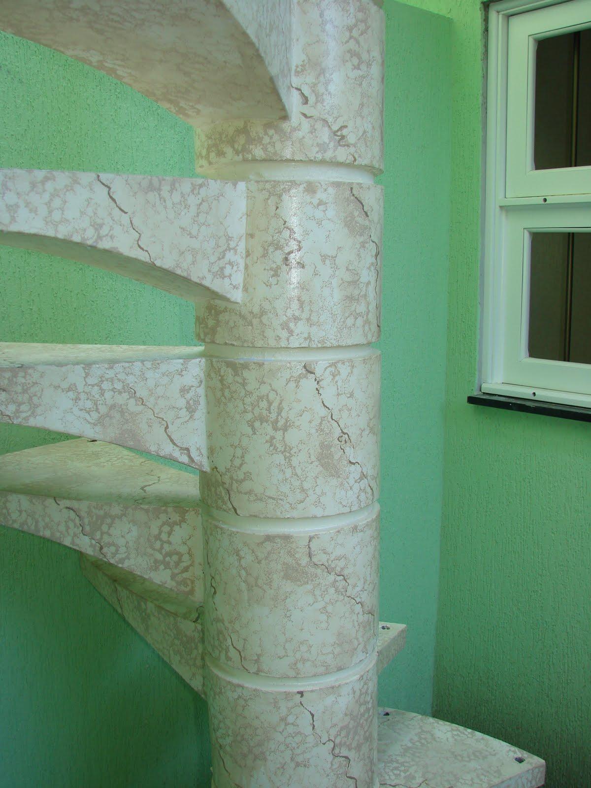 Escadas Caracol de Concreto Escada Caracol em Concreto