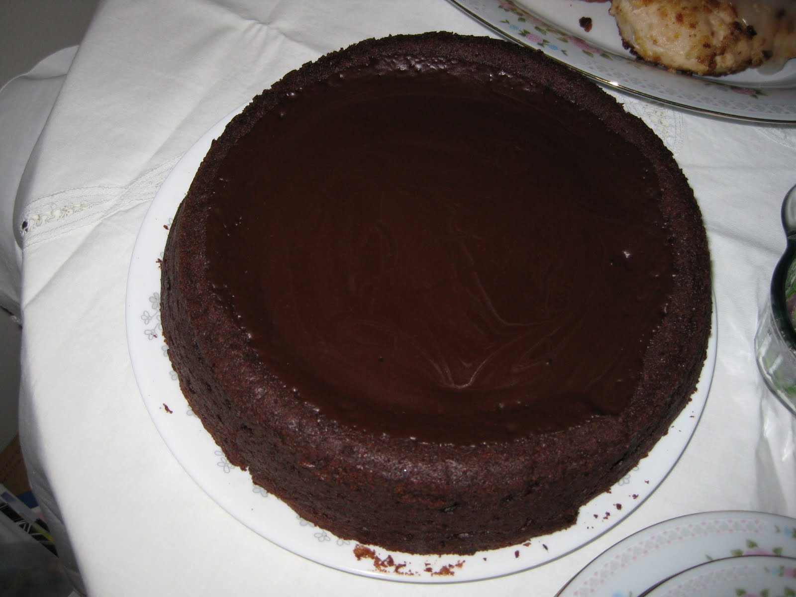 The Wooden Spoon: Orange-Scented Bittersweet Chocolate Cake