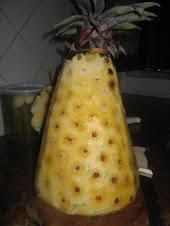 Abacaxi descascado