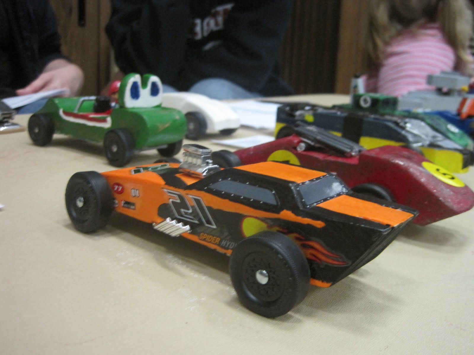 Pinewood derby car paint job ideas