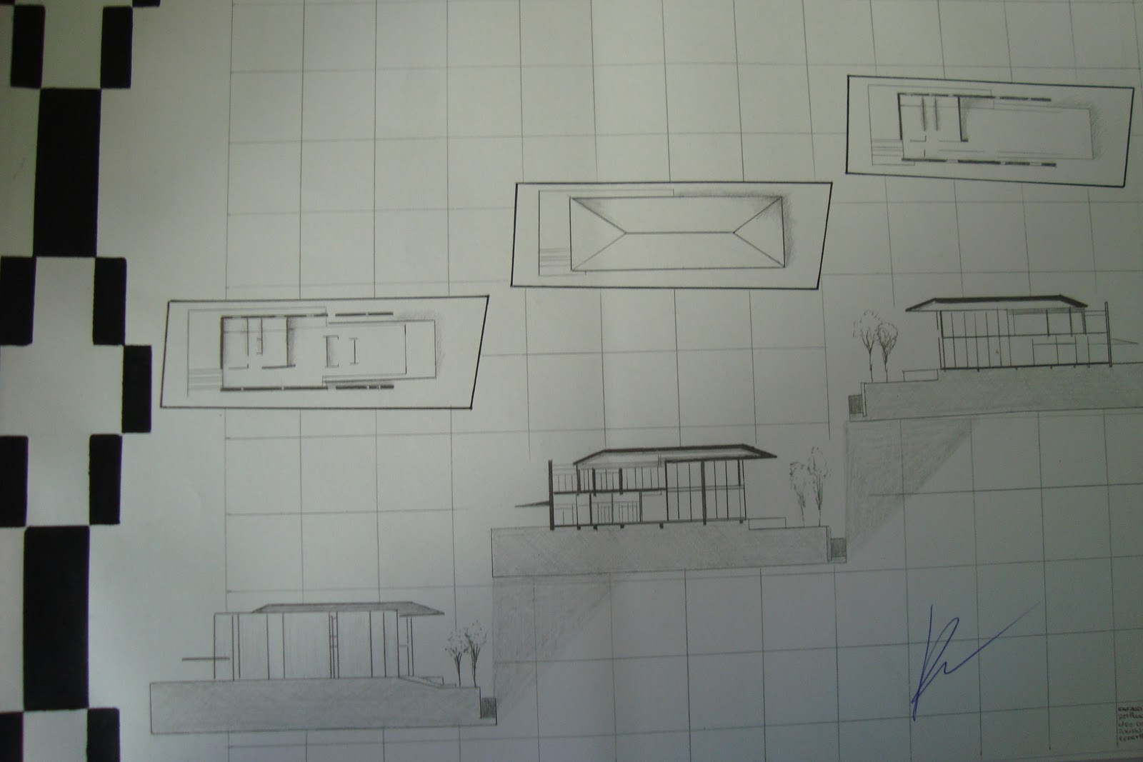 La eskina norte de arquitectura laminas de presentacion for Laminas arquitectura