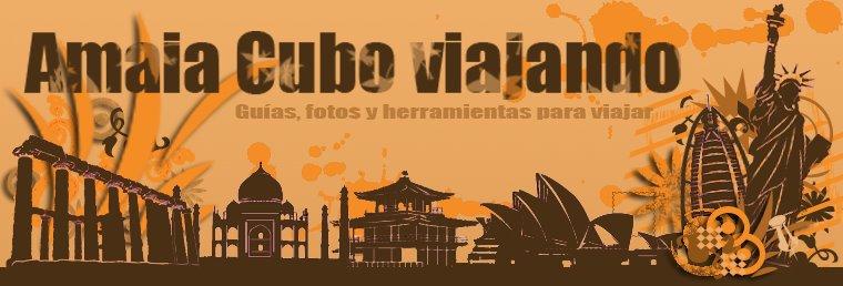 Amaia Cubo viajando