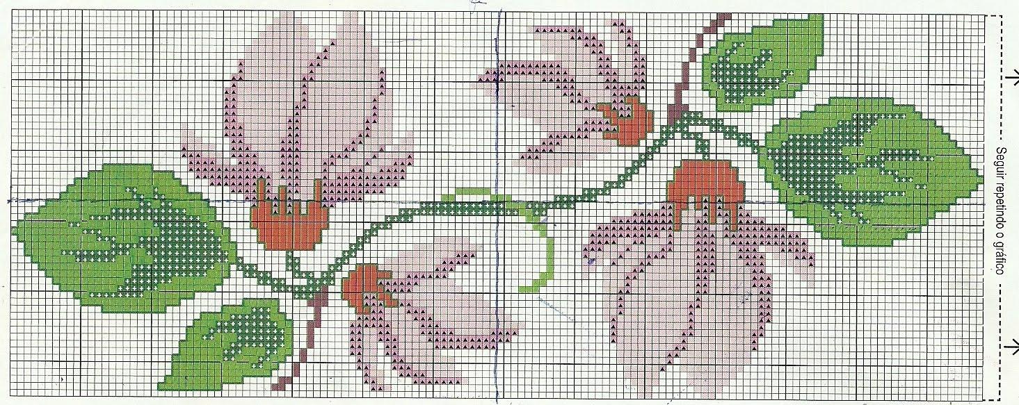 Toalha de banho flores orientais