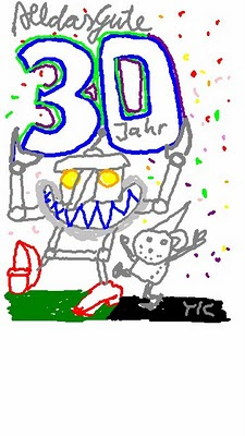 Handy art yk 30 jahre happy birthday joss schaub