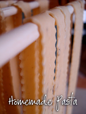 Homemade Pasta…Making a Day of It