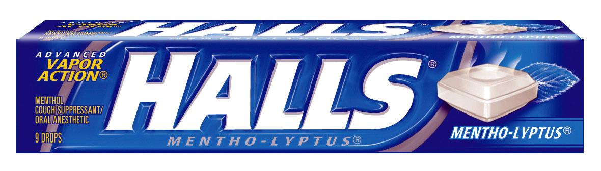 Halls Cough Drops. Giveaway - Halls Cough Drops!