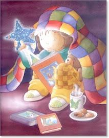 A magia brota dos livros...