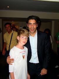 Com Rui Costa na Copa Foot 21