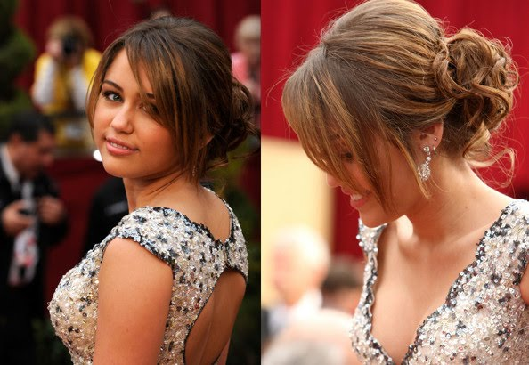 miley cyrus hairstyles up. Beauty curly hairstyles