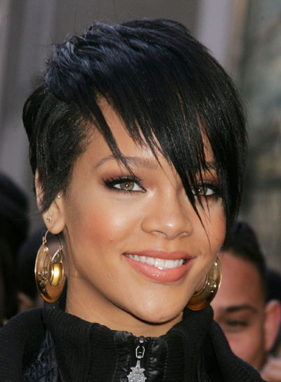 He use short types of hairstyles. See below Rihanna Latest hairstyles in