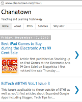 Chanatown mobile blogger