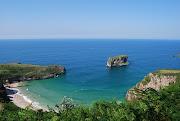 Tengo una foto de una playa de Asturias como fondo de escritorio en el .