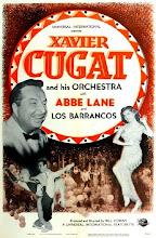 Xavier Cugat con Abbe Lane