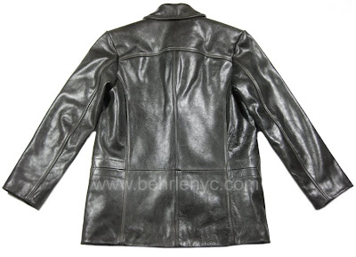 Custom Leather Jacket-Back