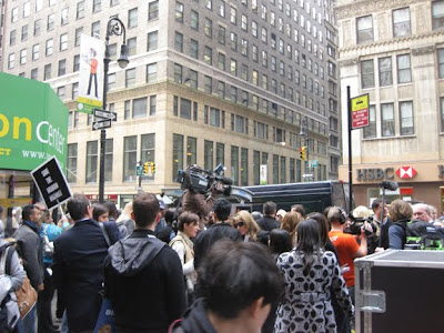 save the garment center rally