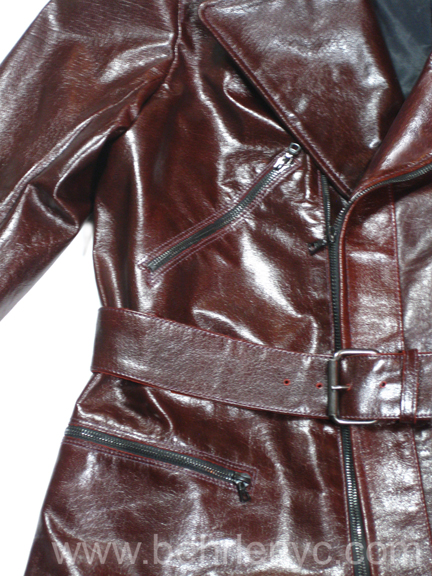 Oxblood Buffalo MC jacket