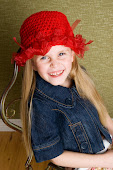 Ribbon weave hats