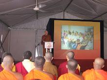 Rev Mahinda's Alokarama Temple opening ceremony