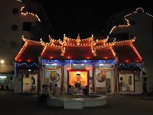 SKE Temple at night