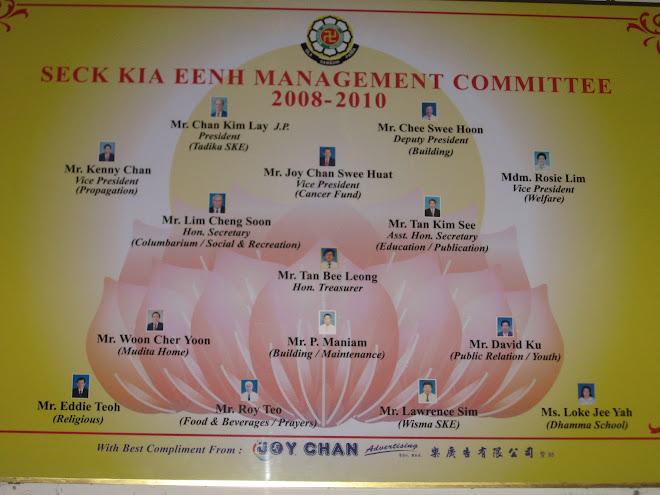 SKE Main Management committee 2008 - 2010