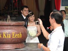 Tay Li Lian's wedding at SKE Melaka