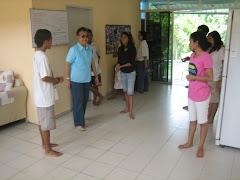 Visit to Timor Leste children