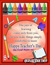 """HAPPY TEACHER""S DAY"