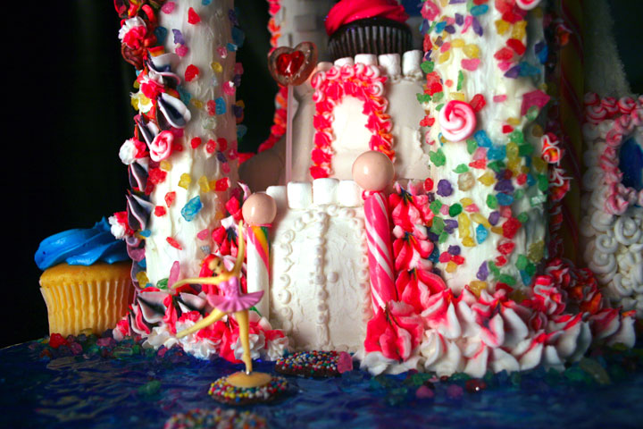 .Amanda Cupcake. Sweet Dreamer ♥: Candy Land Castle Cake