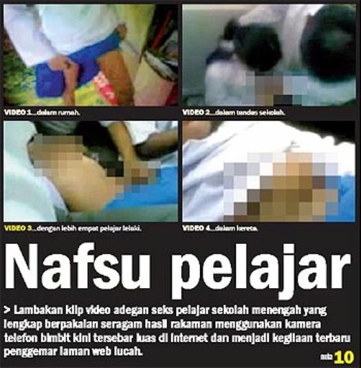 300 remaja melayu salah laku seksual seks bebas ape jadahnya nak jadi ...