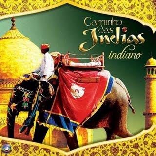 Capa do CD Caminho das Indias Internacional