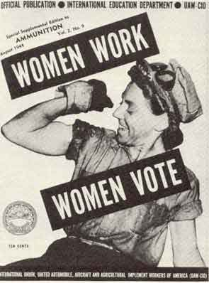 Women can work and vote!
