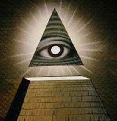 eye of horus symbol. and pyramid (eye of Horus