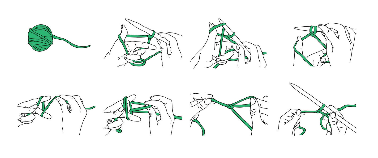 Knitting Needles Drawing : How to draw knitting needle