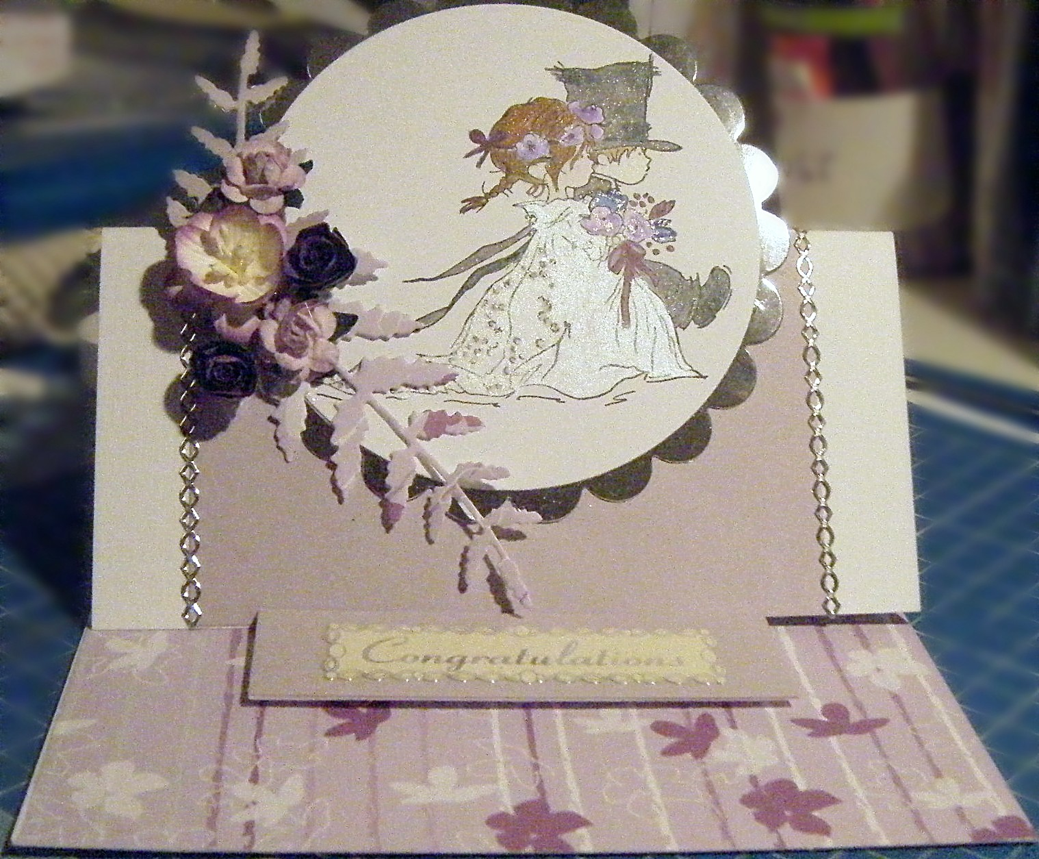 Blackbutterfly Handmade Cards & Crafts: Another Wedding Card