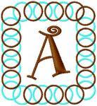 Circle Frame Monogram