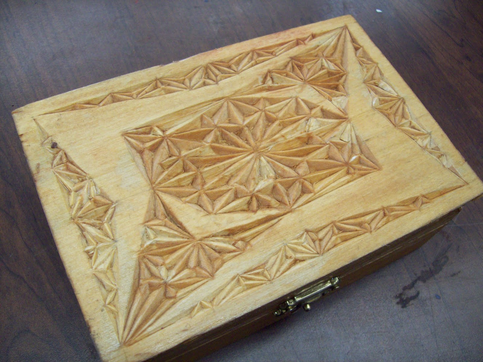 The art of teaching design elements chip carving