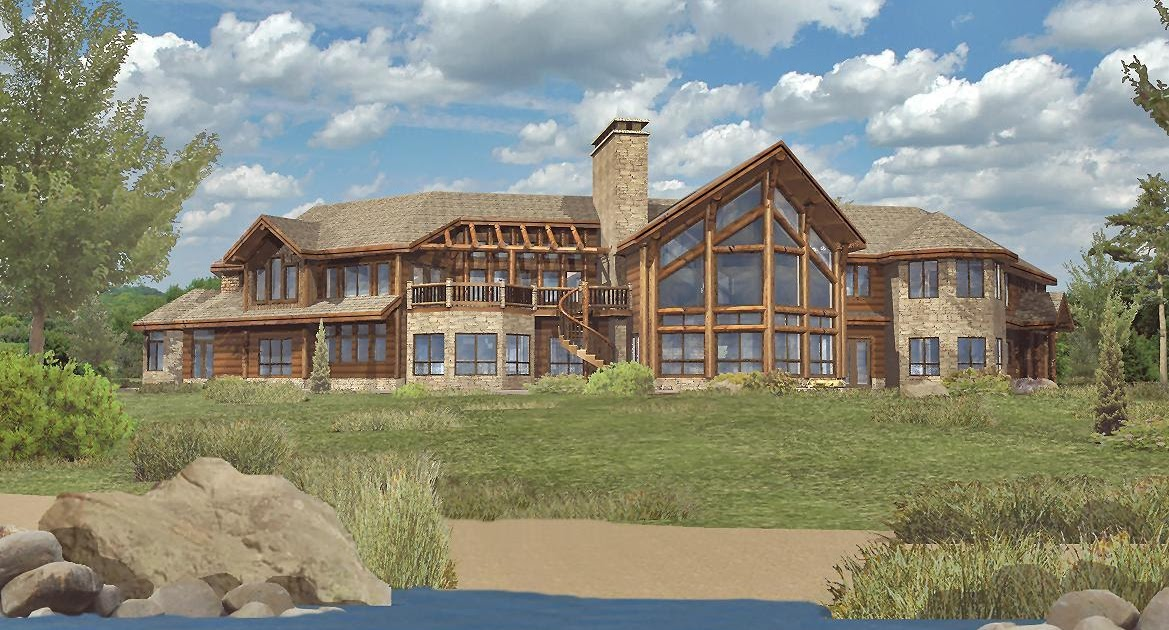 log home floor plans by wisconsin log homes inc petenwell estate by
