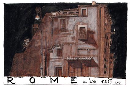 ROME la nuit