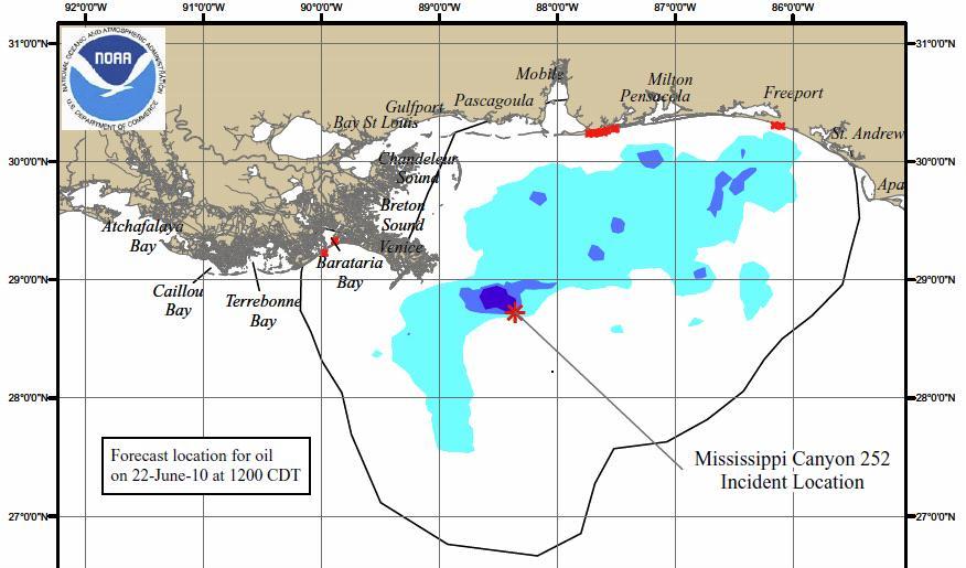 gulf oil spill NOAA