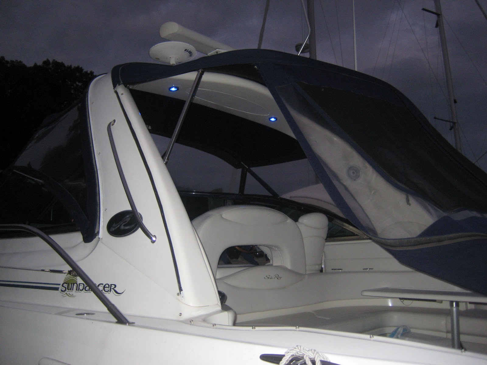 How To Wire Led Lights On A Boat Center Light Wiring Diagram Blue Upgrade Lighting My Life Rh Myboatlife Com In Your