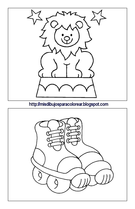 Dibujos para peques (1ª parte) : Mis dibujos para colorear