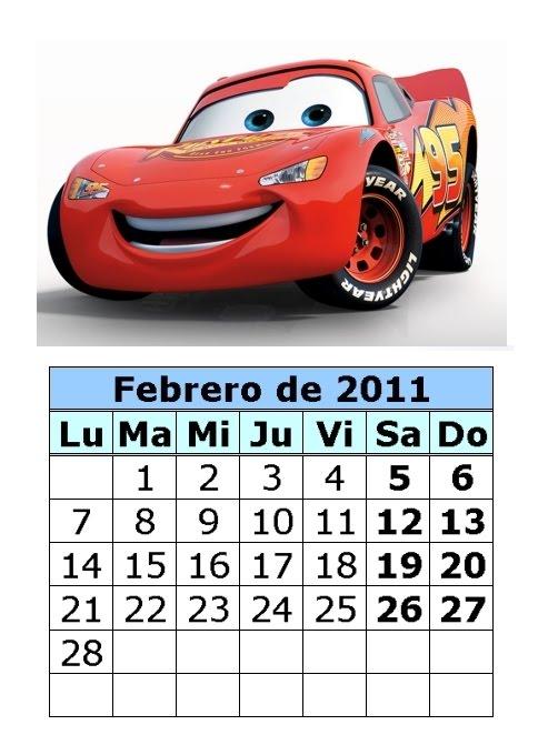 Calendario de dibujos de 2011 (1ª parte)