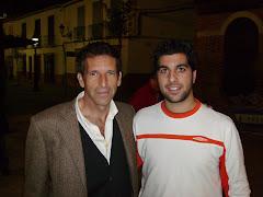 Con Miguel Morilla