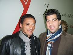 Con Dario Silva