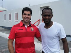 Con Didier Zokora